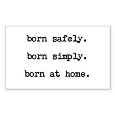 Homebirth Advocacy Decal