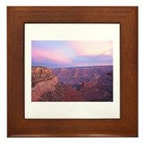 Grand Canyon Dawn Framed Tile