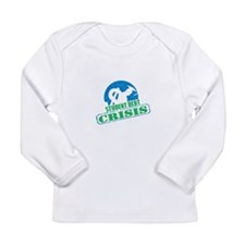 Student Debt Crisis Logo Long Sleeve T-Shirt