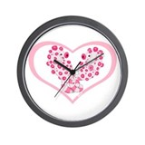 Pygmy Seahorses Wall Clock