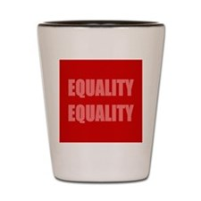 Marriage Equality Equal Sign Shot Glass