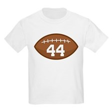 Football Player Number 44 T-Shirt
