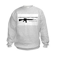No Gun Control Sweatshirt
