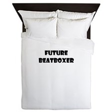FUTURE BEATBOXER Queen Duvet