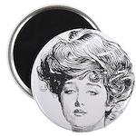 Gibson Girl Magnet