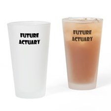 FUTURE ACTUARY Drinking Glass