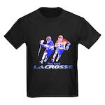 Lacrosse Play Hard Kids Dark T-Shirt