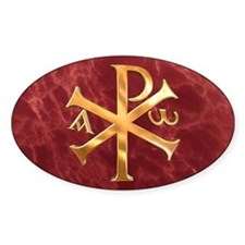 Chi-Rho Decal