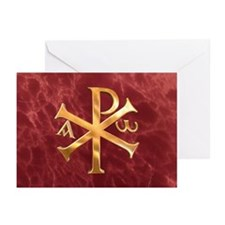 Chi-Rho Greeting Cards (Pk of 10)