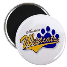 Marion Wildcats Fan Magnet