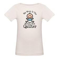 Mom is Worlds Best Quilter Tee