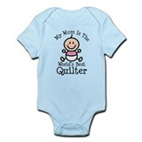 Mom is Worlds Best Quilter Onesie