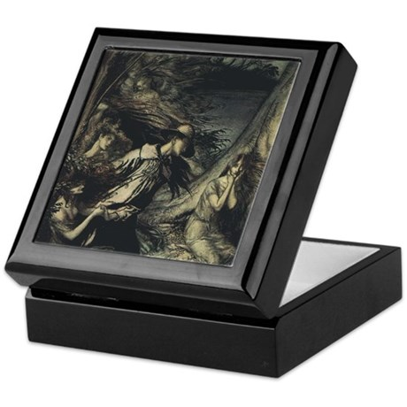 Rackham's Fairy Wife Keepsake Box