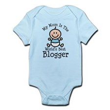 Mom is Worlds Best Blogger Infant Bodysuit