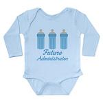Future Administrator Long Sleeve Infant Bodysuit