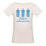 Future Administrator Organic Baby T-Shirt