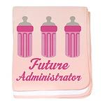 Future Administrator baby blanket