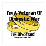 I'm A Veteran Of Domestic War I'm Divorced Square