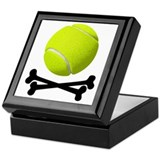 Pirate Tennis Keepsake Box