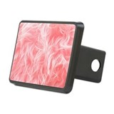 Pink Fake Fur Pattern Hitch Cover