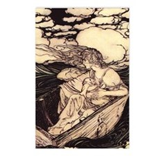 Rackham's Danae Postcards (Package of 8)