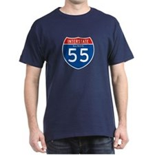 Interstate 55 - IL T-Shirt