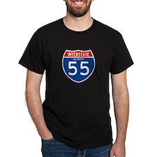 Interstate 55 - IL T-Shirt