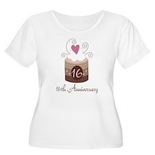 16th Anniversary Cake T-Shirt