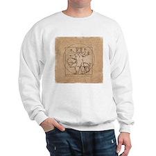 Vitruvian Squirrel Sweatshirt