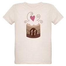11th Birthday Cake T-Shirt