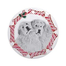Pyrenees Pair Ornament (Round)