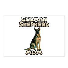 German Shepherd Mom Postcards (Package of 8)