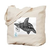 Poisoned Turtle Tote Bag