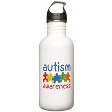 Autism Awareness Sports Water Bottle