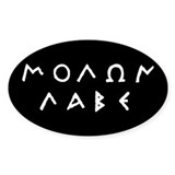 Molon Labe Decal