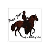 Paso Fino Art Rectangle Sticker