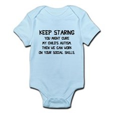 Keep Staring Infant Bodysuit