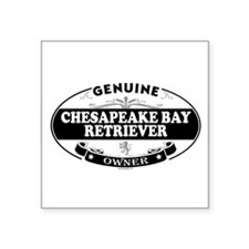 CHESAPEAKE BAY RETRIEVER Oval Sticker