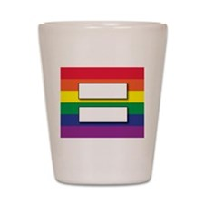 Marriage of Equality Shot Glass