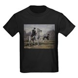 Arabian Horse and Saluki Dog T-Shirt