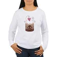 15th Birthday Cupcake T-Shirt