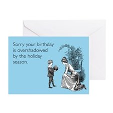 Birthday Overshadowed Greeting Card