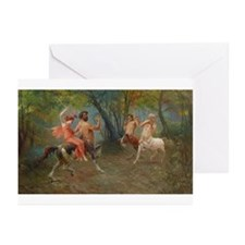 Centaurs in Love and War Greeting Cards (Pk of 10)