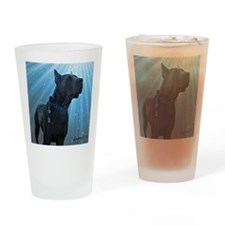 Great Dane Drinking Glass