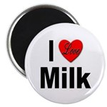 I Love Milk Magnet