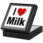 I Love Milk Keepsake Box