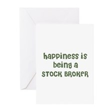 Happiness is being a STOCK BR Greeting Cards (Pack