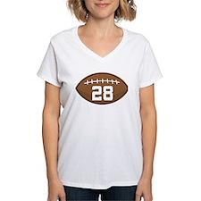 Football Player Number 28 Shirt