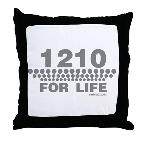 1210 For Life Throw Pillow