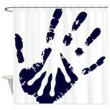 My friend the alien Shower Curtain